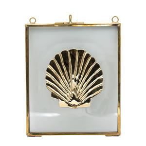 wanddecoratie Shell (16x14 cm)
