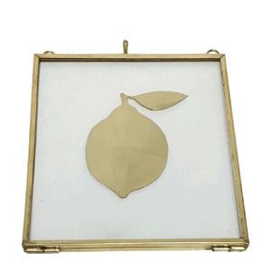 wanddecoratie Lemon (16x14 cm)