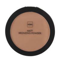 HEMA Matt bronzing powder - Medium
