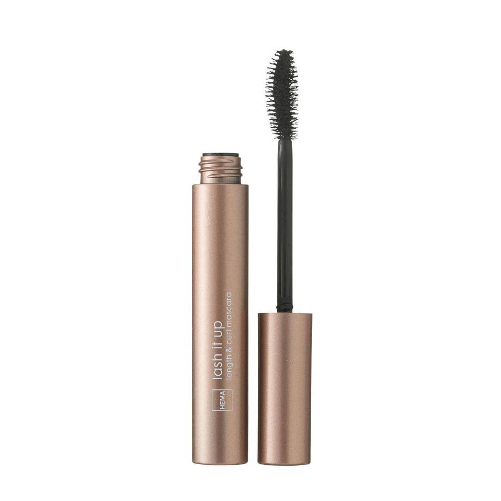 HEMA Length & curl mascara - Ultra black, Ultra Black