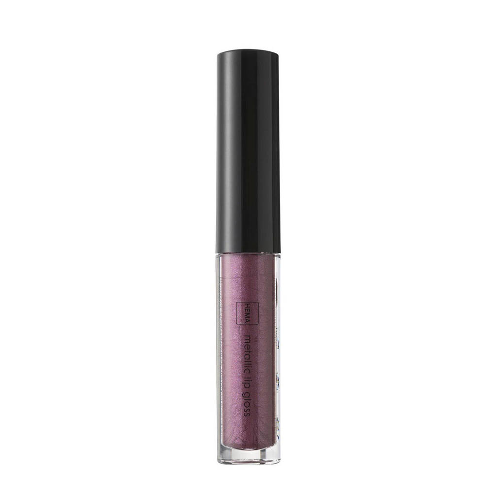 HEMA Metallic lipgloss - Power purple, Power Purple