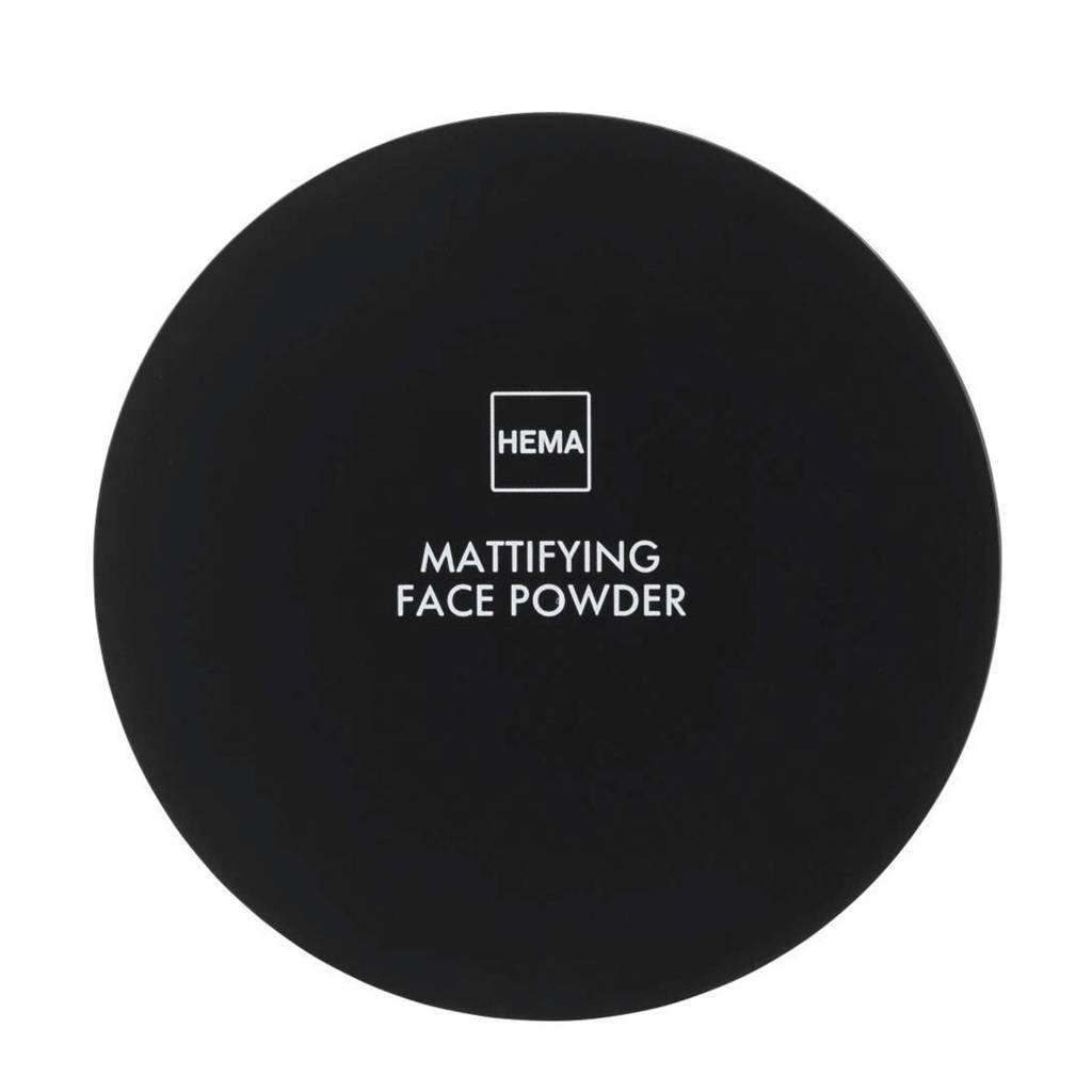 HEMA Mattifying face powder - Rose light