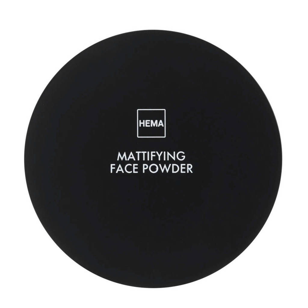 HEMA Mattifying face powder - Neutral light
