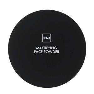 Mattifying face powder - Rose medium