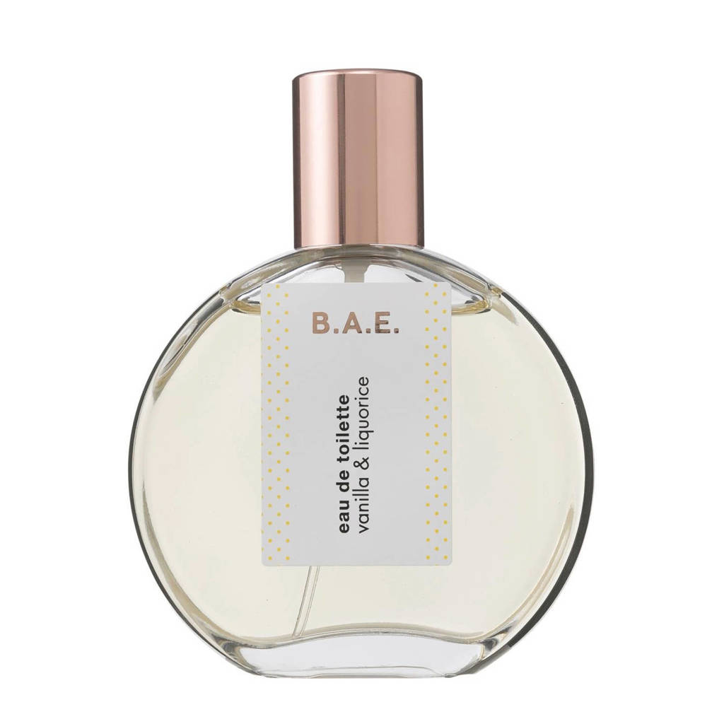 B.A.E. Vanilla and Liquorice eau de toilette - 50 ml, Warm & kruidig