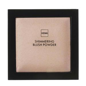 Shimmering blush powder - Brilliant brown