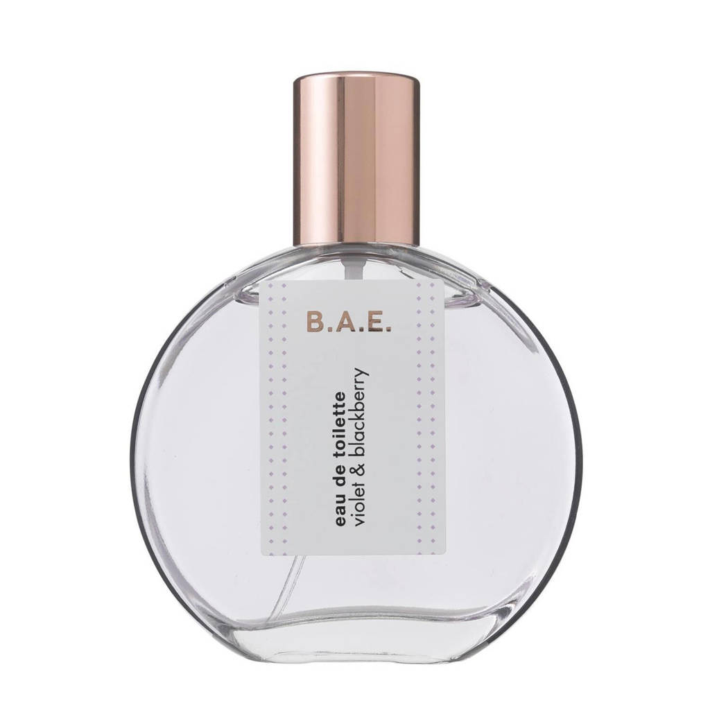 B.A.E. Violet and Blackberry eau de toilette - 50 ml, Bloemig