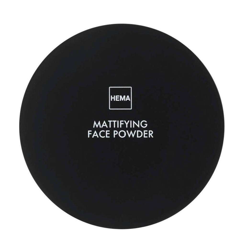 HEMA Mattifying face powder - Neutral medium