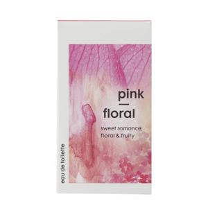 Eau de toilette pink floral - 50 ml
