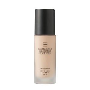 Skin Protecting Illuminating foundation - Rose 01