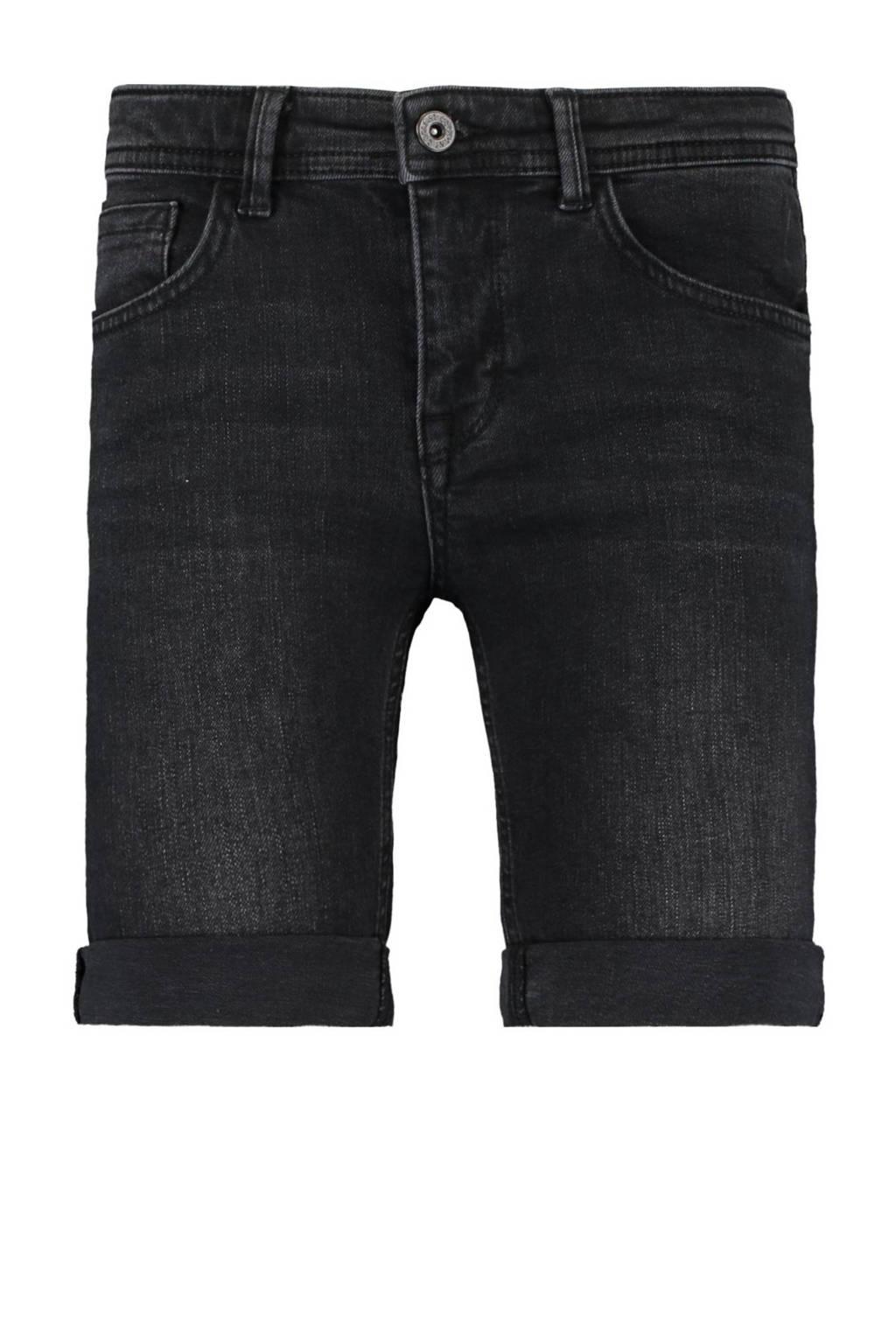 CoolCat Junior jeans bermuda Niek zwart, Zwart