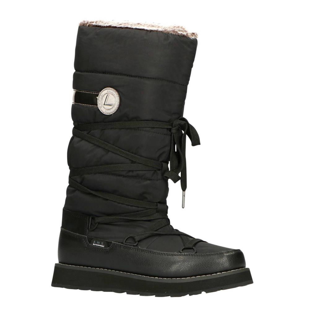 Luhta Tahtova  snowboots zwart, Zwart