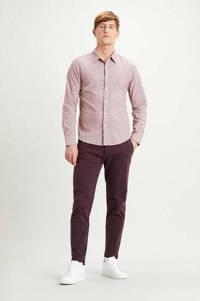 Levi's gemêleerd slim fit overhemd roze, Roze