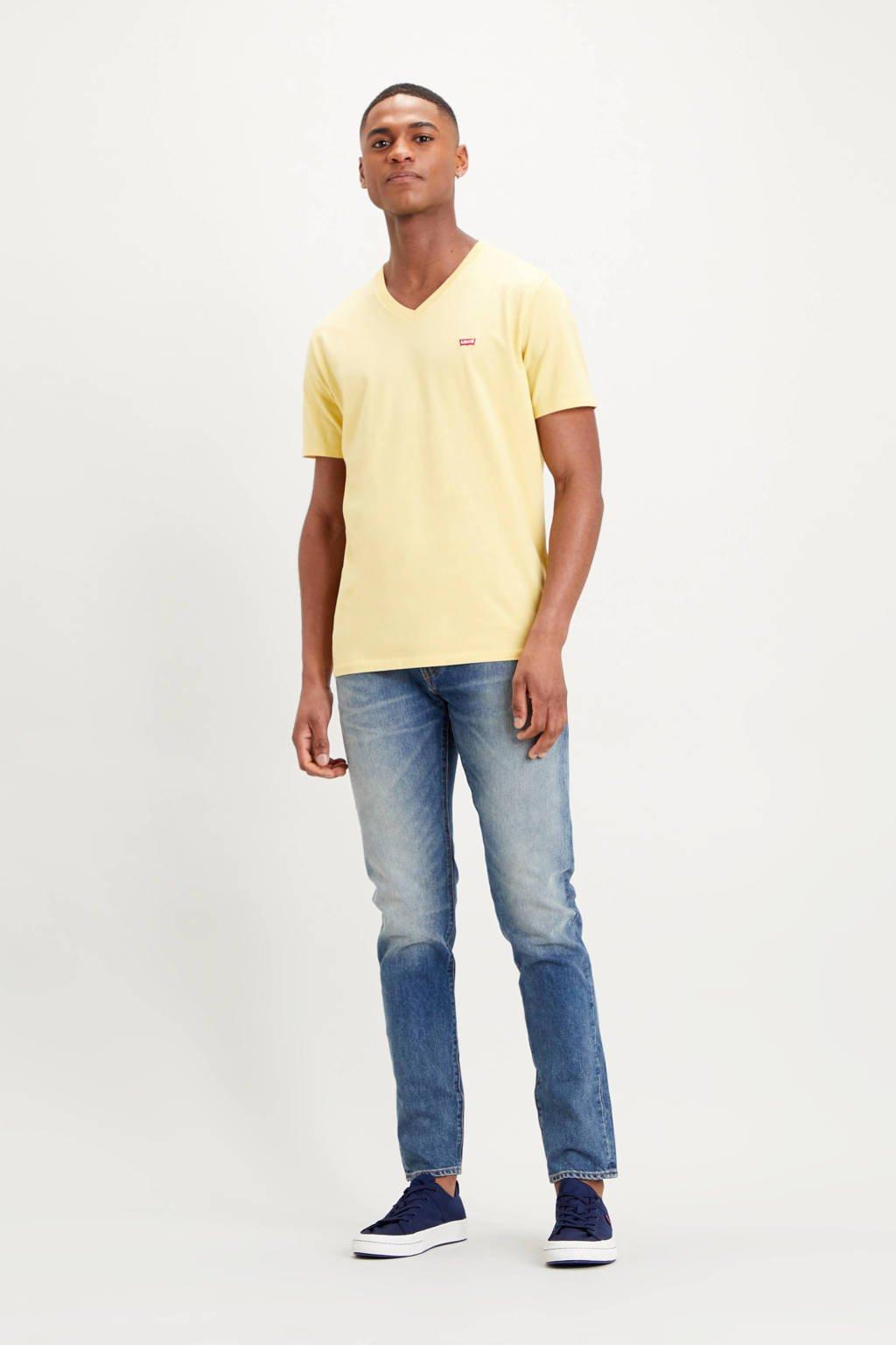 Levi's T-shirt met logo geel, Geel