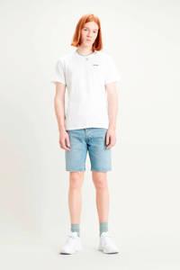 Levi's T-shirt met printopdruk wit/groen/roze, Wit/groen/roze
