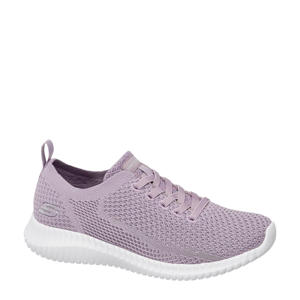 Knitted  sneakers lila