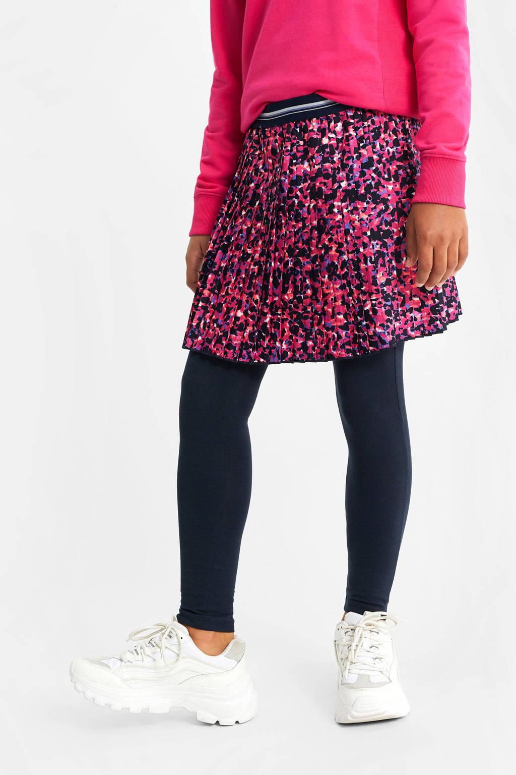 WE Fashion rok met panterprint roze, Roze