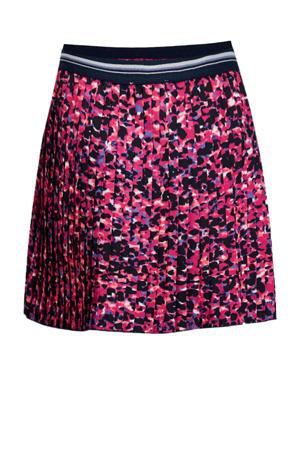 rok met panterprint roze