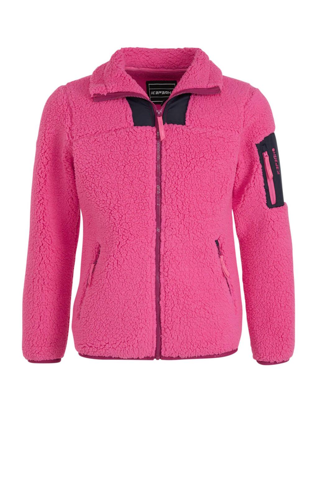 Icepeak vest Kennebec Jr. roze, Roze
