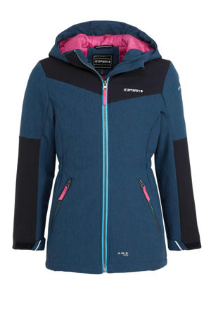 softshell jack Kemnath Jr. donkerblauw