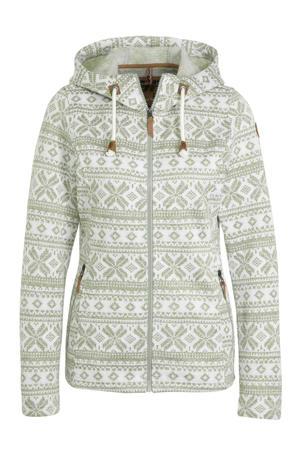 outdoor vest Ep Aneta wit/bruin