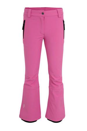 softshell skibroek Lenexa JR roze