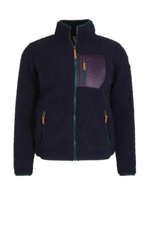 fleece vest Ep Andalusia donkerblauw
