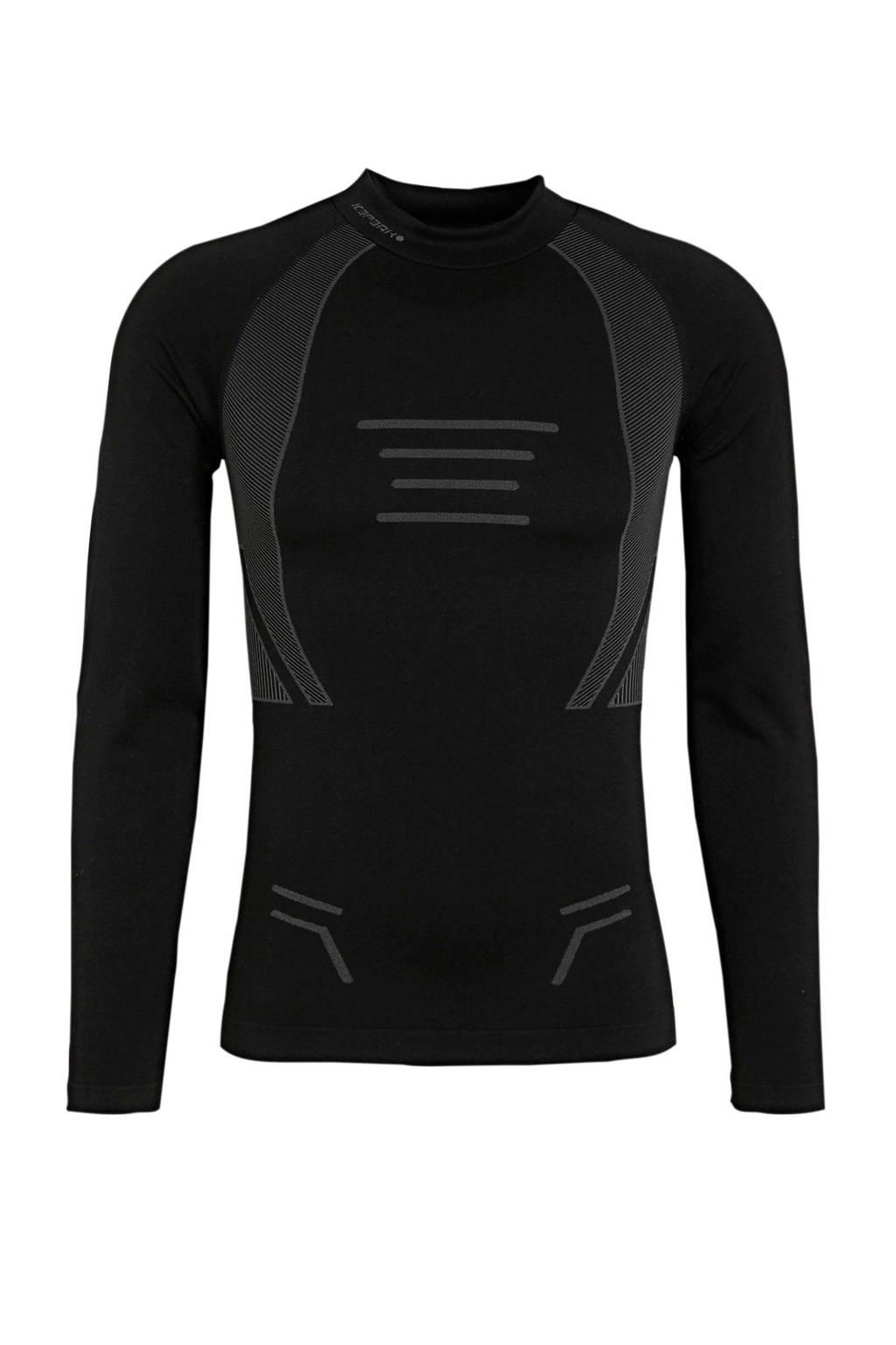 Icepeak thermoshirt Irondale zwart, Zwart
