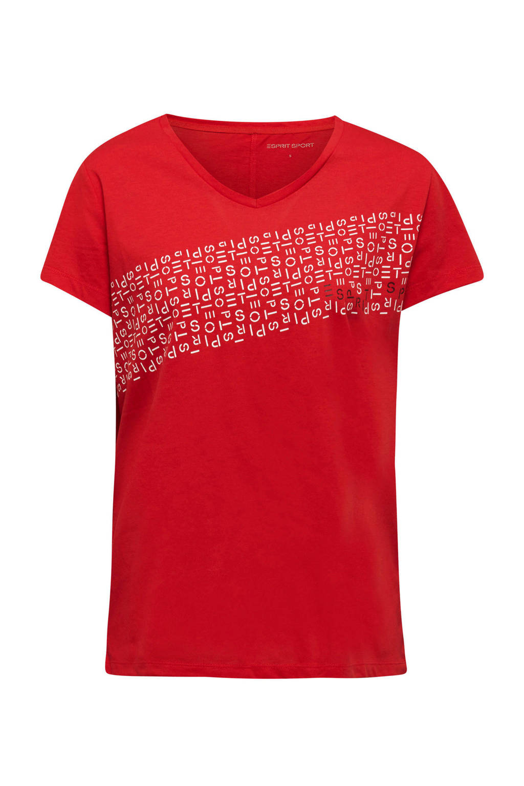 ESPRIT Women Sports T-shirt rood, Rood