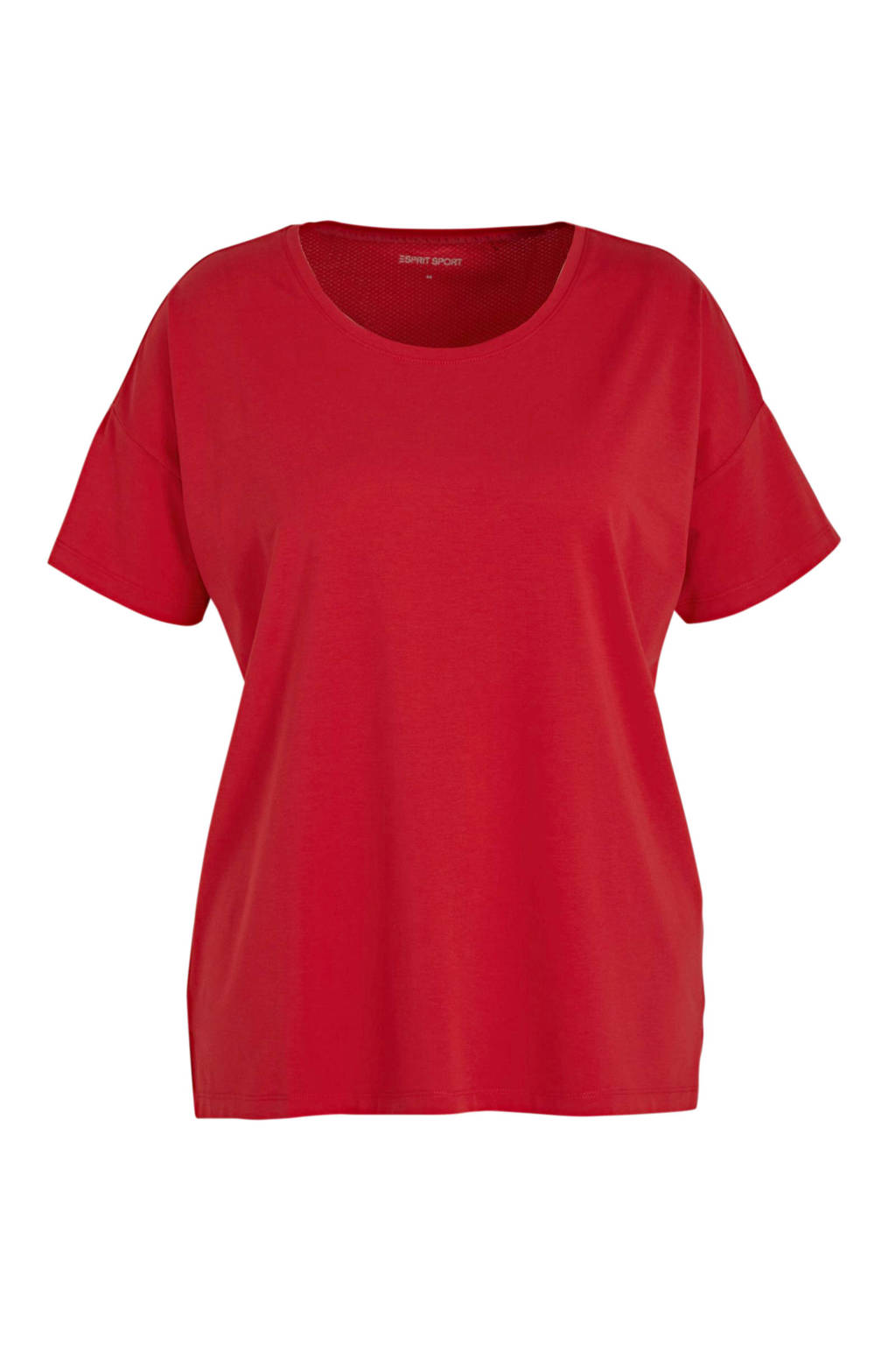 ESPRIT Women Sports sport T-shirt rood, Rood
