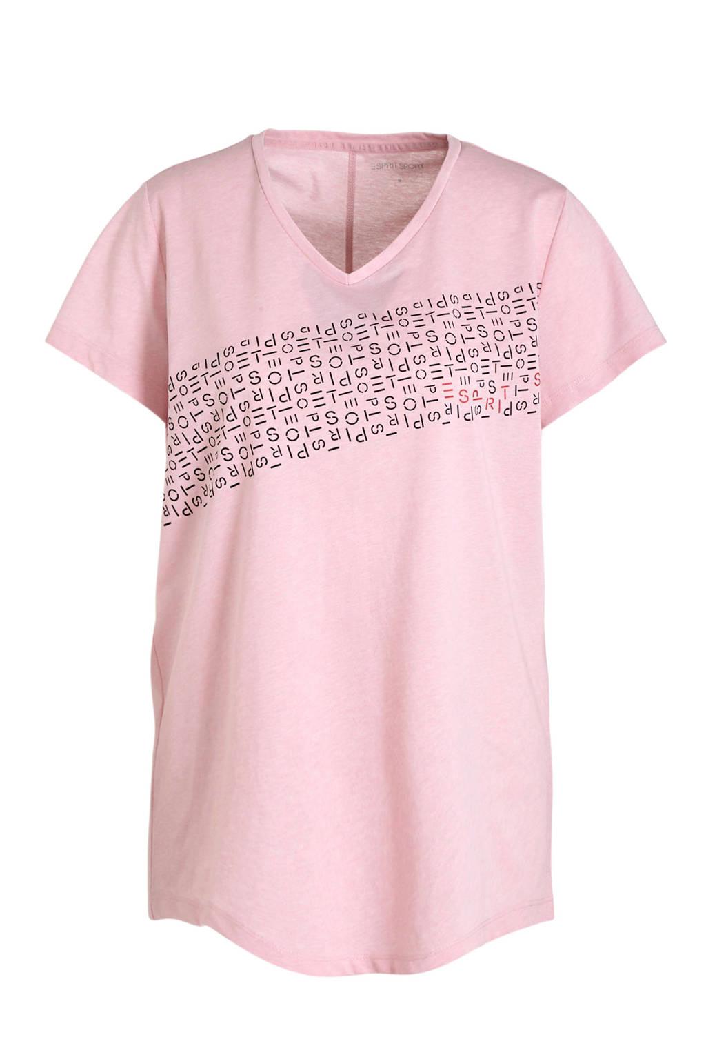 ESPRIT Women Sports T-shirt lichtroze, Lichtroze