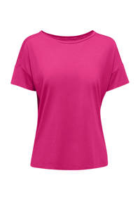 ESPRIT Women Sports sport T-shirt fuchsia, Fuchsia