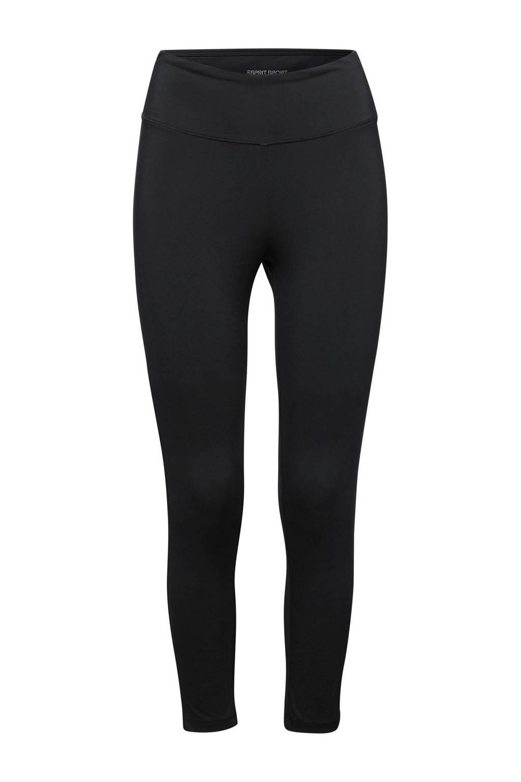 ESPRIT Women Sports sportbroek zwart, Zwart