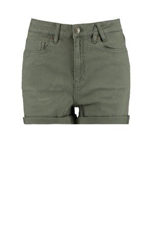 jeans short Lucy groen