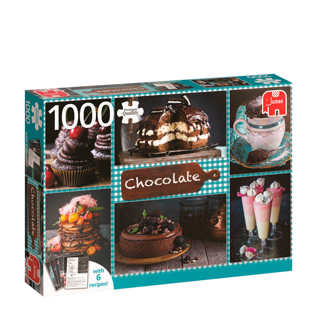 Jumbo Chocolate + 6 recepten  legpuzzel 1000 stukjes