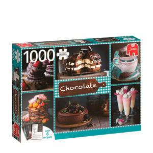 Chocolate + 6 recepten  legpuzzel 1000 stukjes