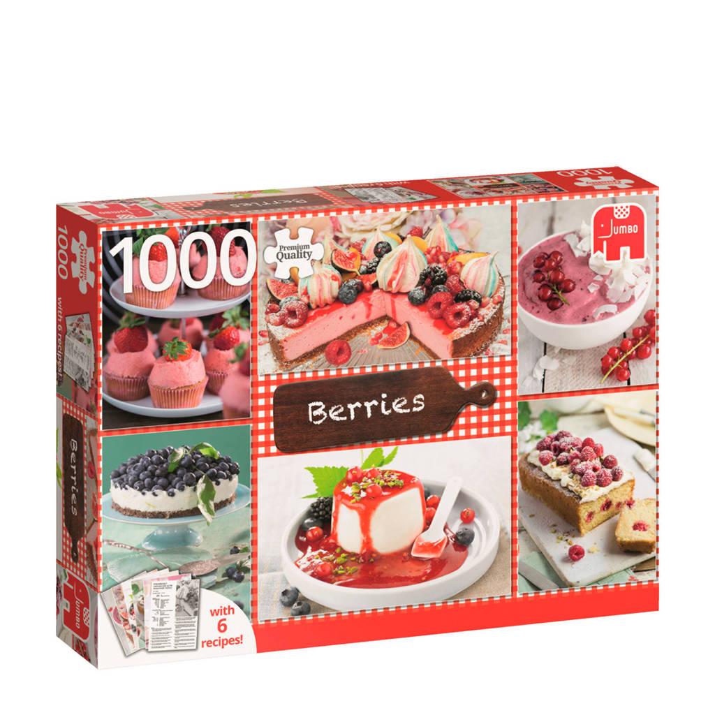 Jumbo Berries + 6 rececpten  legpuzzel 1000 stukjes