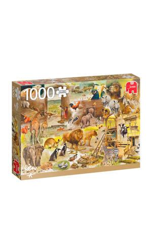 PC De constructie van de Ark van Noach  legpuzzel 1000 stukjes