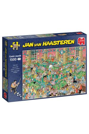 Krijt Op Tijd  legpuzzel 1500 stukjes
