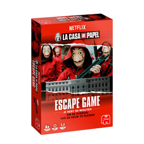 Wehkamp-Jumbo Casa de Papel – Escape game NL bordspel-aanbieding