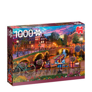 PC Amsterdam Canals 1000 pcs  legpuzzel 1000 stukjes