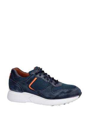 Ryan  suède sneakers blauw