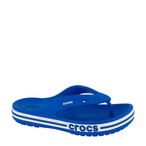 Crocs Bayaband Flip Flop teenslippers blauw