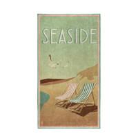 Seahorse strandlaken Blackpool (170x90 cm) Groen