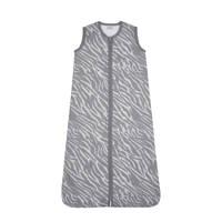 Meyco baby slaapzak zomer zebra grijs, Grijs
