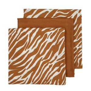 hydrofiele luiers - set van 3 zebra/uni camel