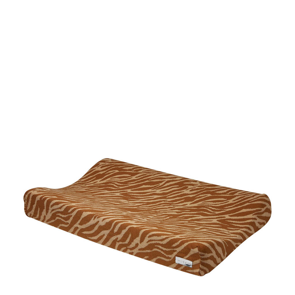 Meyco aankleedkussenhoes zebra camel, Camel