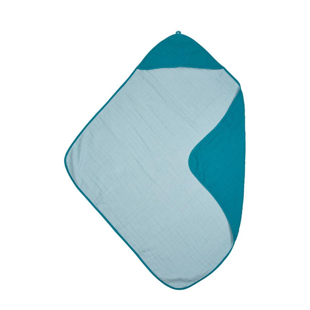 Meyco hydrofiele badcape petrol/sea blue, Petrol/sea blue