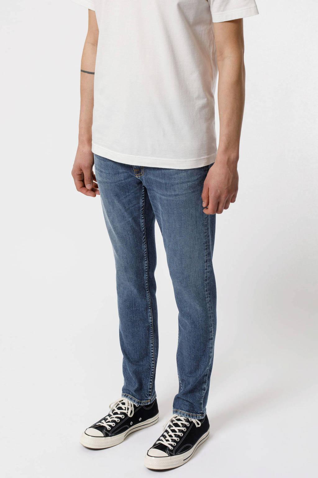 Nudie Jeans slim fit jeans Lean Dean blue vibes, Blue Vibes