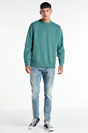 Lancet skinny jeans sun faded scanda blue